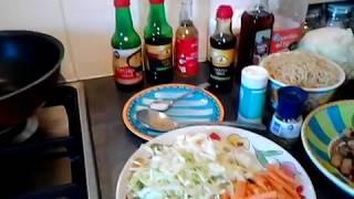 Chow mein recept / Chinese bami / Roerbak noedels vegetarisch...