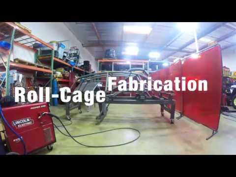 Polaris RZR XP4 1000 Roll Cage fabrication