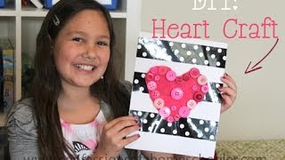 DIY Heart Craft Tutorial Thumbnail