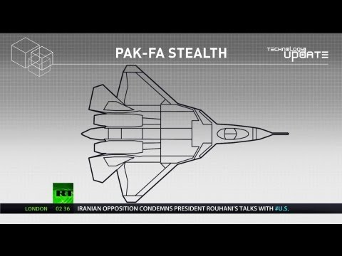 RT - T-50 Pak Fa Stealth Fighter Has RCS Of Tennis Ball With Passive Stealth Technology [1080p]