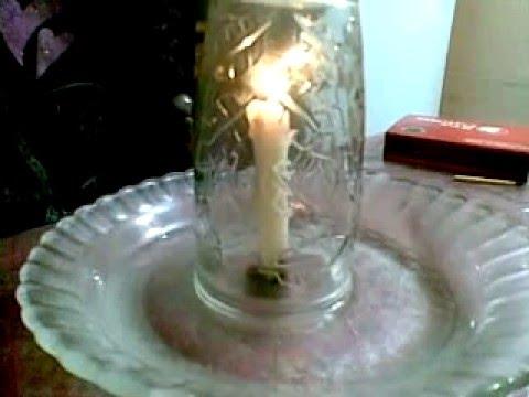 Experimento la vela que hace subir el agua youtube - Velas de agua ...