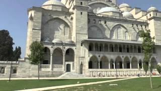 Стамбул Мечеть Сулеймание Акведук Валента Istanbul Süleymaniye Camii Valens Aqueduct(, 2015-09-28T14:59:19.000Z)