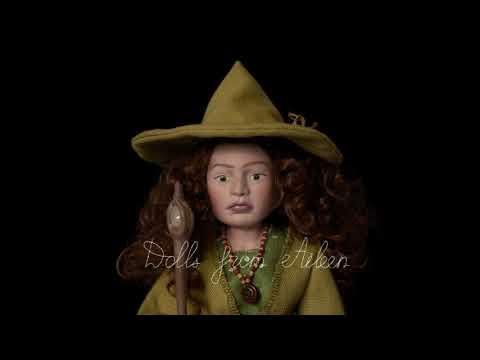 Kassadi - OOAK Celtic Witch Doll | Dolls From Aileen