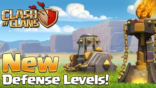 Clash of Clans - NEW UPDATE! Inferno Tower, Mortar, Spell Changes