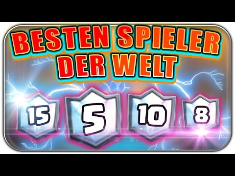 DIE BESTEN SPIELER DER WELT GEGENEINANDER | Clash Royale Let's Play | Deutsch German