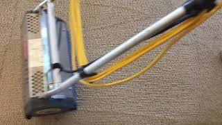 This carpet definitely needed the CRB to loosen up the fibers and soil.| CRB| Agitation|