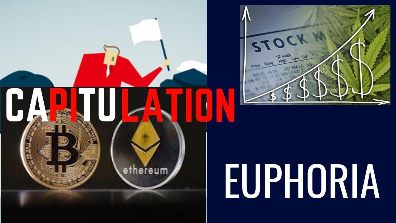 STOCK MARKET EMOTIONAL CYCLE - S&P 500, BITCOIN, MARIJUANA STOCKS