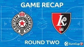 Highlights: Partizan Nis Belgrade -  Lietuvos rytas Vilnius
