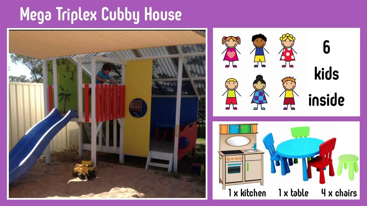 Cubby House Kits | Kids Wooden Cubby Houses | My Cubby - MyCubby