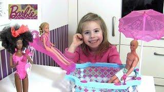 Barbie Glam Pool - ab auf die Rutsche und ins Wasser - Aqua Fun | Mattel