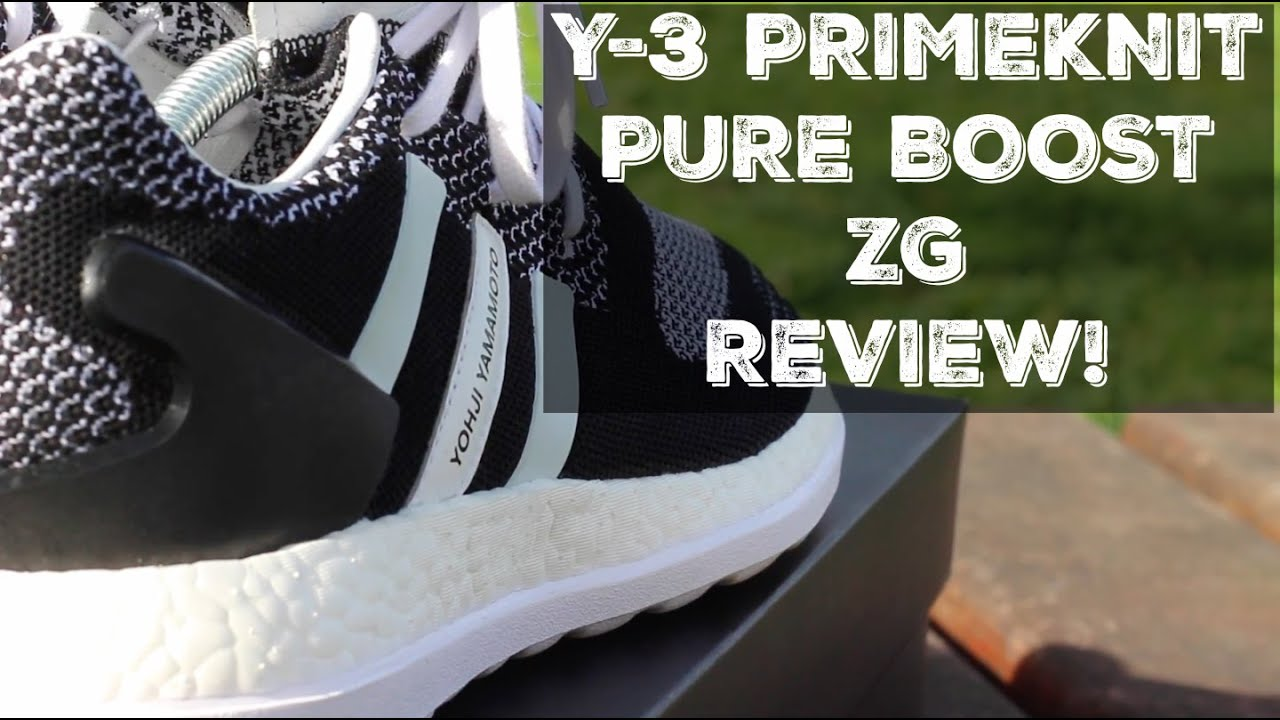 Adidas Y3 Primeknit Pure Boost ZG | Solecollector in 2019