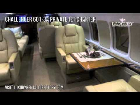 Challenger 601-3A Private Jet Charter