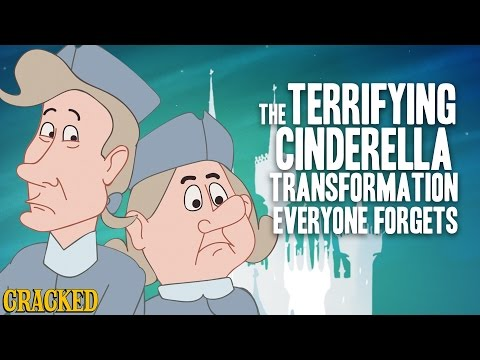 The Terrifying Cinderella Transformation Everyone Forgets
