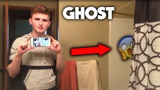 GHOST IN MY NEW APARTMENT?!