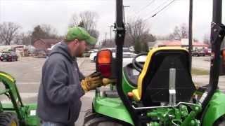John Deere 3033R vs. 3320 Tractor Comparison