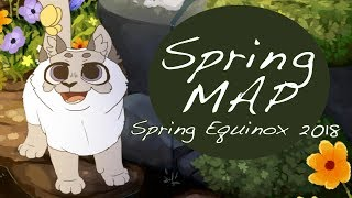 ~*Spring MAP COMPLETE*~ Spring Equinox 2018