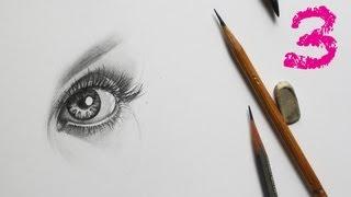 How to Draw Eyes / Как РИСОВАТЬ ГЛАЗ карандашом Часть 3(How to Draw Eyes ✐ Как РИСОВАТЬ ГЛАЗА карандашом Часть 3 - How to Draw Realistic Eyes По вопросам частных занятий по Skype, пишите..., 2013-09-24T13:45:32.000Z)