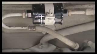 ВАЗ 2110 Замена топливного фильтра тонкой очистки