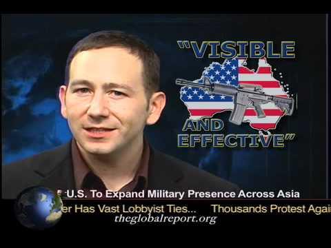 U.S. To Expand Military Presence Across Asia