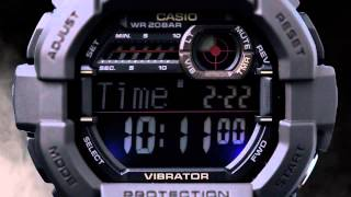 G-Shock Classic Collection featuring the GD350 Mens Watch with Vibration Alarm