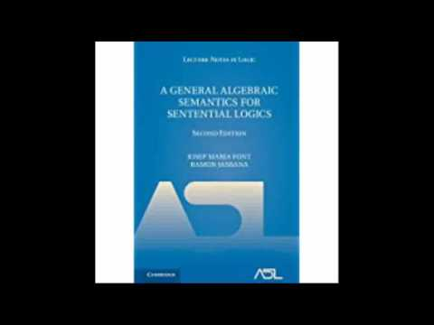 A General Algebraic Semantics for Sentential Logics Lecture Notes in Logic