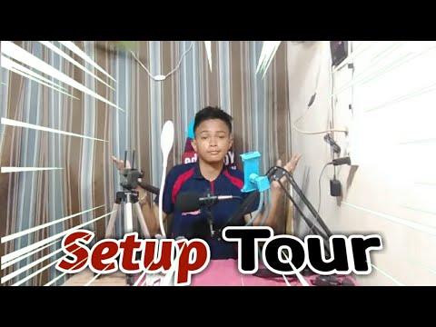Budget Gaming/Vlogging Setup (Tour) - Tagalog
