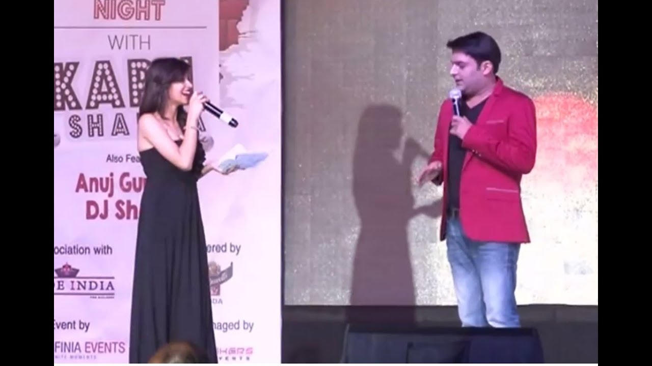 Kapil Sharma stage show in Hyderabad 2016 new