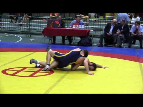 2014 Senior Greco-Roman National Championships: 66 kg Joseph Dashou vs. Mike Asselstine