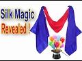 Disappearing Handkerchief Trick-Revealed!Silk Vanish Magic