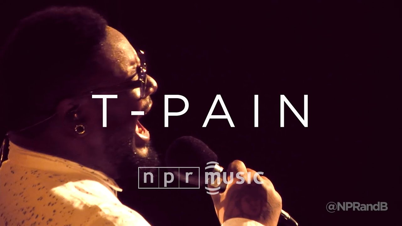 60 Year Anniversary >> T-Pain Full Concert | NPR MUSIC FRONT ROW - YouTube