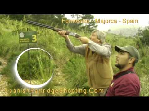 Spanish Partridge Shooting Majorca - Driven Partridge 02
