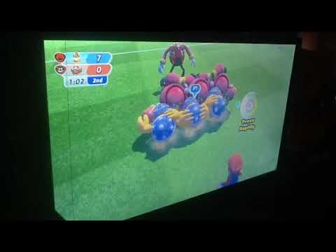 Mario and sonic at the rio 2016 Olympic Games demo (rugby sevens)