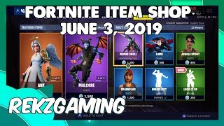 (v bucks giveaway) fortnite ITEM SHOP LIVE! [june 3, 2019] (Fortnite Battle Royale)