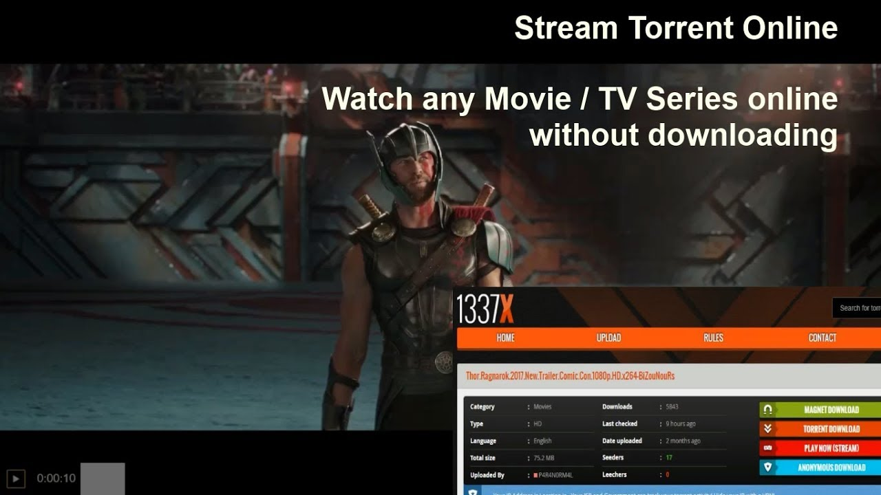 stream torrent online - watch any movie or tv series online on