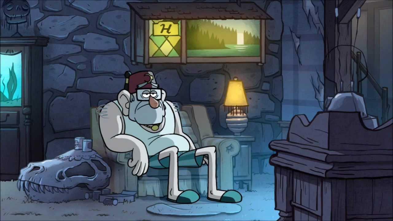 Gravity Falls - Stan watches