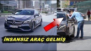 Sürücüsüz Araba İstanbul Sokaklarında Yola Çıkarsa ne Olur ? Gülmek Garanti