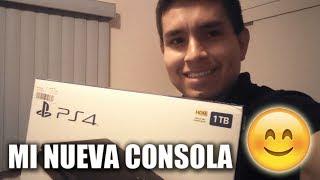 MI NUEVA CONSOLA!!! :) ... JoseManu va por su PS4 (FIFA 18 & PES 2018)