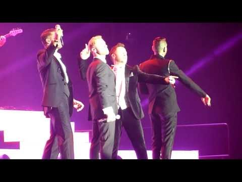 Boyzone - Picture of You - BZ20 Tour 29th November 2013 - Odyssey Arena, Belfast