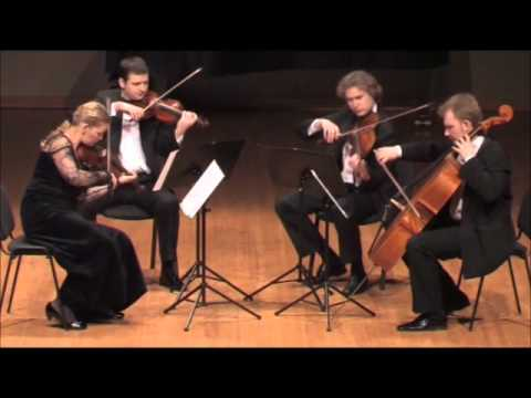W.A. Mozart String Quartet in F major, K. 590 Finale