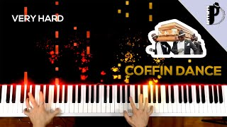 Coffin Dance Piano Tutorial | EASY to VERY HARD