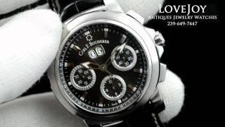 Carl F Bucherer Patravi Chronograph Mens Watch