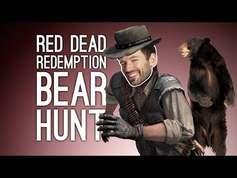 Red Dead Redemption: BEAR HUNT FOR LEGENDARY SHARPSHOOTER! - Episode 19