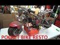 Pocket bike restoration part 1