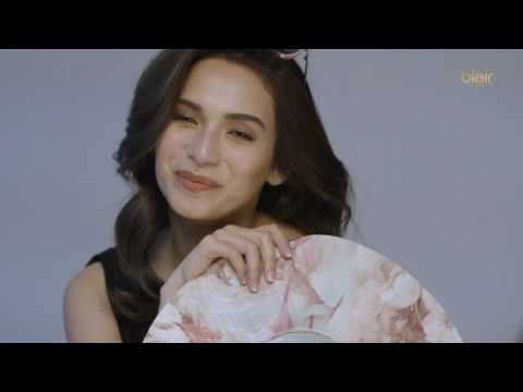 Jennylyn Mercado's BTS video for Blair Cosmetics