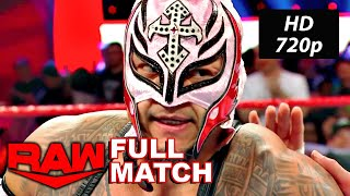 Rey Mysterio vs Angel Garza WWE Raw March 9, 2020 Full Match HD