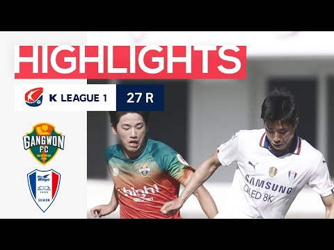 Gangwon Suwon Bluewings Goals And Highlights