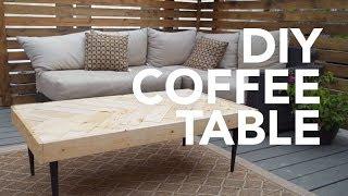DIY COFFEE TABLE