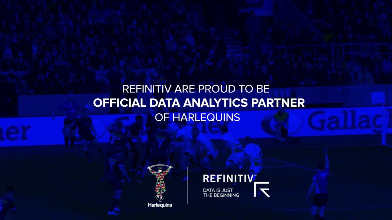 Refinitiv - Official Data Analytics Partner of Harlequins