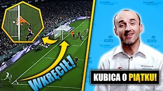 Zdobył GOLA z ROŻNEGO! Kubica o Krzysztofie Piątku!