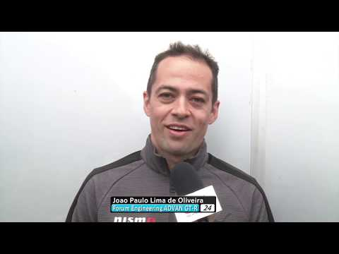 2018 AUTOBACS SUPER GT Rd.2 Joao Paulo Lima de Oliveira Interview before the race.